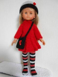 vêtements pour poupée cherie de corolle, paola reina,little darling 33cm
