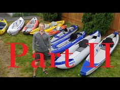 Choosing an inflatable kayak Part2 - Summer 2020 update - YouTube