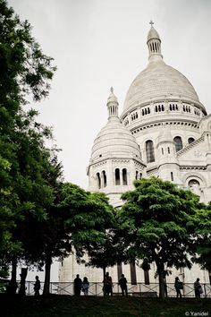 The Sacré Coeur, in Montmartre, is a must-visit place when you come to Paris.  Visit our blog for more information: http://www.ile-saint-louis.com/