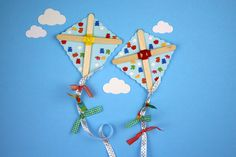 Mary Poppins had it right, let's go fly a kite! We know your kids will love creating these cute kite magnets to proudly display on the fridge!