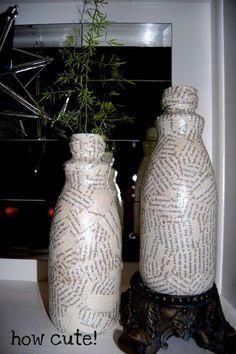 Coffee Creamer Bottle Crafts