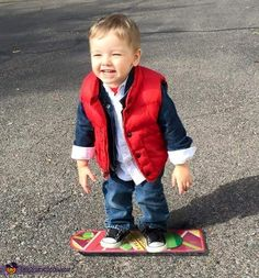 Marty McFly Baby Costume Idea - 2015 Halloween Costume Contest