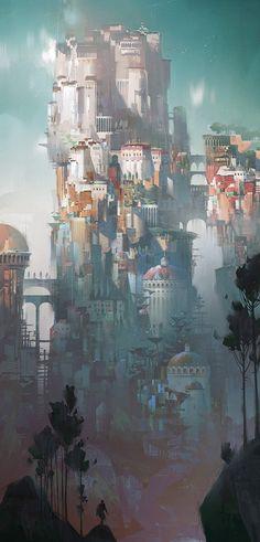 Lost kingdom арт, Ivan Laliashvili