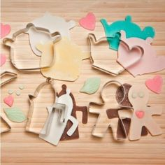 Alessi Progiotti Cookie Cutter Set - Kitchen