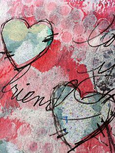 Home-made Valentine Cards