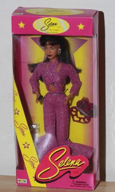 Limited Edition Selena (Quintanilla Perez) Doll in Purple Outfit