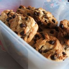 Yogurt Chocolate Chip Cookies