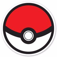 """4.8"""" Pokemon Go Poke Ball Decal Sticker Vinyl Car Macbook Waterproof Outdoor #UnbrandedGeneric"""