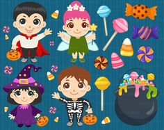 ♡ DESCRIPTION ♡ 18 Halloween Trick-or-Treat clipart • 7 costumed kids • 9 pieces of candy • 2 trick or treat bags with candies • *you will receive the purchased clipart with NO watermarks  ♡ INSTANT DOWNLOAD ♡ Transparent 300DPI PNG files (Let us know if you need any other flat file formats. Dont hesitate to send a message if you encounter any issues or if you would like to request larger sized images!)  For Personal and Commercial Use (small businesses only) *Credit not needed but very much…