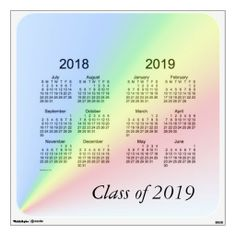 Class Of  Wall Calendar By Janz  Class Of