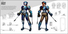 Overwatch inspired hero design! Credit to Valeriy Vegera for the layout design…