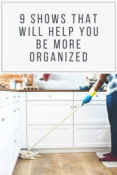 For those of us with lofty organization ambitions and nighttime TV-watching habits, here are 9 shows that help us have our cake and eat it too. Home Office Organization, Organization Hacks, Organizing Ideas, Good Back Workouts, Clean Sweep, Home Improvement Projects, Organizer, Getting Organized, Housekeeping
