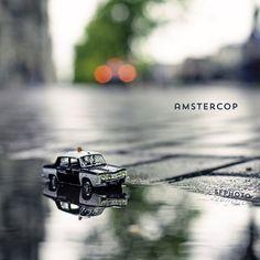 Little cops in little Amsterdam