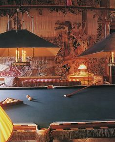 No longer relegated to playrooms and smoky, unappealing pool halls....