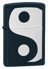 Zippo Yin & Yang Black Matte Lighter goldia. $29.95