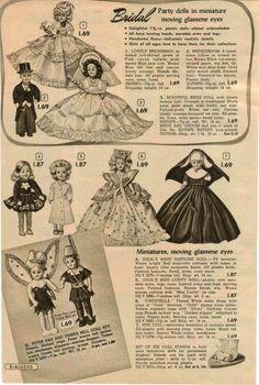 1953 Advert 6 PG Ideal Toy Doll Walking Bonnie Braids Cinderella Nun Hartline   eBay