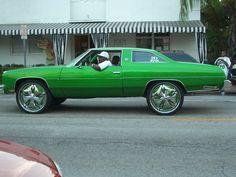 Green pimp car by iluetkeb,