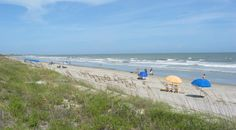 Kiawah Island has a perfect, private stretch of beach.  The best way to see it is by bike.