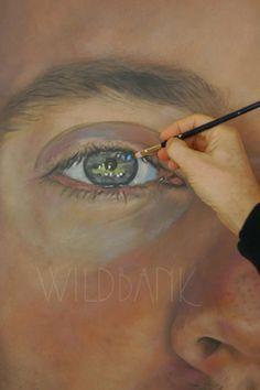 Portrait in progress by Wildbank 2010