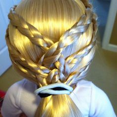 Outstanding Ag Doll Hairstyles Doll Hairstyles And Ag Dolls On Pinterest Short Hairstyles Gunalazisus