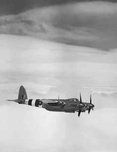 DH-82 Mosquito, one of WW2's great combat aircraft. Read more here http://www.raf.mod.uk/history/dehavillandmosquito.cfm