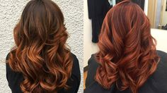 33 Hottest Copper Balayage Ideas for 2017 - Page 3 of 34 - Top Trendy Hairstyles