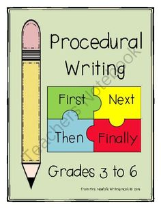 Procedural Writing from Mrs. Naufal's Nook on TeachersNotebook.com -  (22 pages)  - Exploring text features of procedural writing while guiding the procedural writing process.