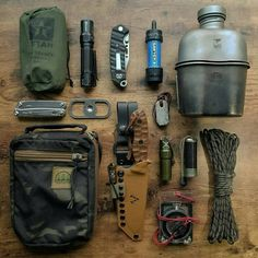 What is your go to gear? Bushcraft Kit, Bushcraft Skills, Survival Tools, Wilderness Survival, Bug Out Gear, Get Home Bag, Tactical Equipment, Edc Everyday Carry, Cafe Racer Motorcycle