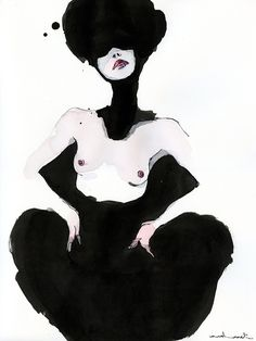 Artist Conrad Roset's Seductive Watercolors Boldly Capture The Female Figure