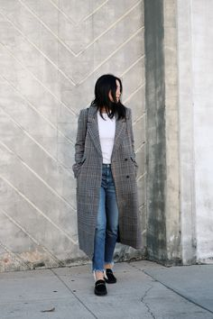 8 Looks That Prove You Need A Checkered Coat This Winter