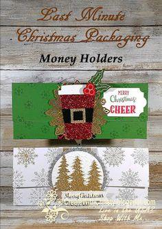 Last Minute Christmas Money Holders Diy Christmas Money Holder, Christmas Gift Card Holders, Handmade Christmas Gifts, Xmas Cards, Christmas Crafts, Christmas Medley, Gift Cards Money, Cash Gifts, Homemade Cards