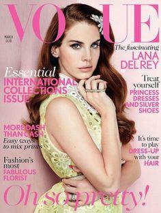 Vogue UK March 2012 Cover – Lana DelRey