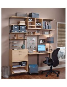Small workspace for the home. Perfect for apartment living.