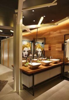 Rio convention center restroom