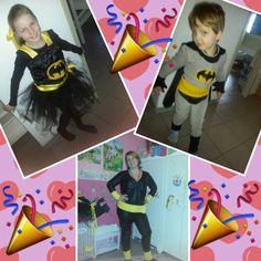 Die Batman-Family verkleidet