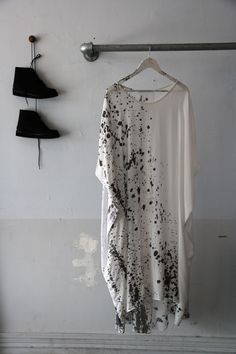 Lela jacobs   silk top (hand painted)