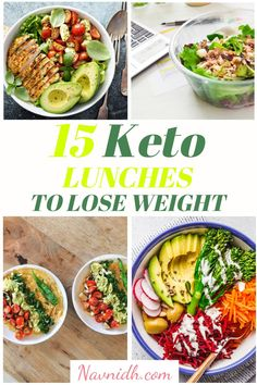 15 Low Carb Keto Lunch Ideas to Meal Prep -15 Low Carb Keto Lunches and meals you can meal prep! Meal prepping makes a keto diet for beginners easier, these also make fantastic low carb and keto dinner ideas too.