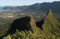 hike to the first peak of Olomana Trail in Oahu (Gone Wandering)