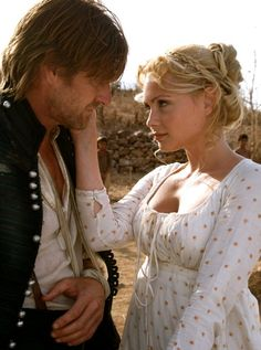 Sharpe's Peril- Beatrice Rosen and Sean Bean.
