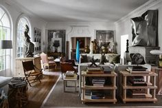 Richard Shapiro house: Los Angeles home of antiques dealer - Vogue Australia