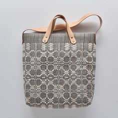 Swallow Studio, Dyeing and weaving studio and gallery Loom Weaving, Tapestry Weaving, Hand Weaving, Fabric Bags, Woven Fabric, Japanese Bag, Crossover Bags, Weaving Projects, Boho Bags