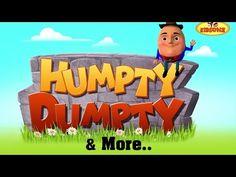 Kids Video Songs, Kids Videos, Rhymes For Kids, Children Rhymes, Children Songs, Humpty Dumpty Nursery Rhyme, English Rhymes, Nursery Rhymes Songs, Moral Stories