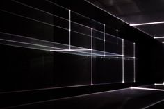 lasers in perspective: vanishing point by united visual artists