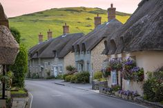 Lulworth Cottages Photograph