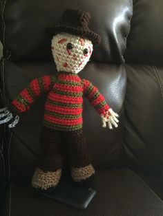 Hes Still Out There Jason Voorhees Amigurumi Pattern Or