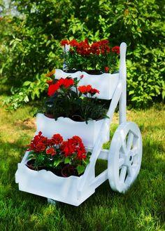 Ahşap Bahçe Süsü Örnekleri