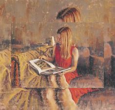 Coin de lecture Laurent Botella born June 1974 in Nantes, France Pastel, French Artists, Figurative Art, Book Art, Art Photography, Abstract Art, Deviantart, Fine Art, Drawings