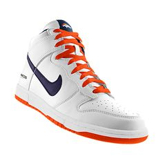 NIKEiD. Custom Nike Dunk High (NFL Denver Broncos) iD Shoe | Shoes ...