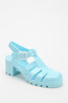 a6a34ff3b887 JuJu Footwear Babe Jelly Heeled Sandal Juju Jellies