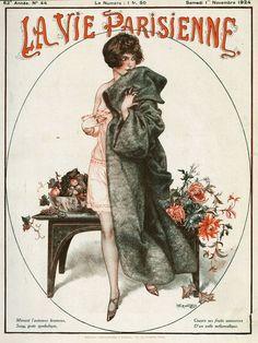 Chéri Hérouard (1881-1961). La Vie Parisienne, 1 Novembre 1924. [Pinned 19-iii-2015]